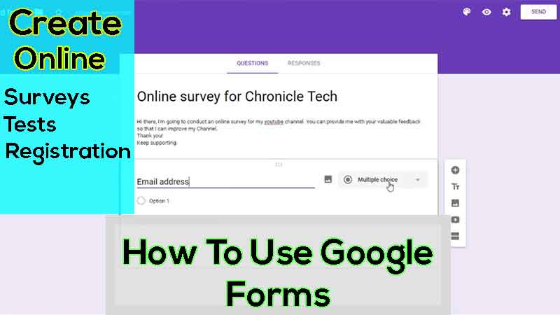 What is Google Forms 2019 and How To Use Google Forms - Meet Noor