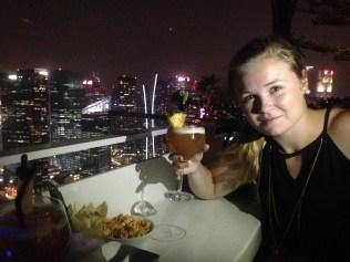 Singapore Sling at Flight Bar