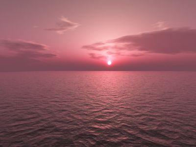 Pre dawn sea