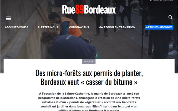 Bordeaux veut « casser du bitume »