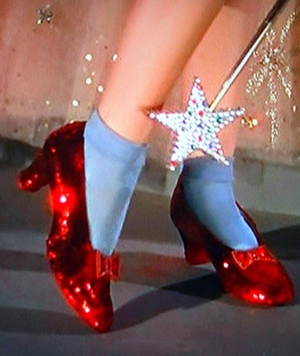 Red Ruby Slippers from the 'Wizard of Oz' Expected to ...