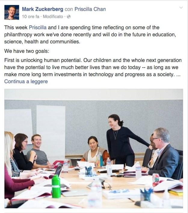 Mark e l'istruzione personalizzata