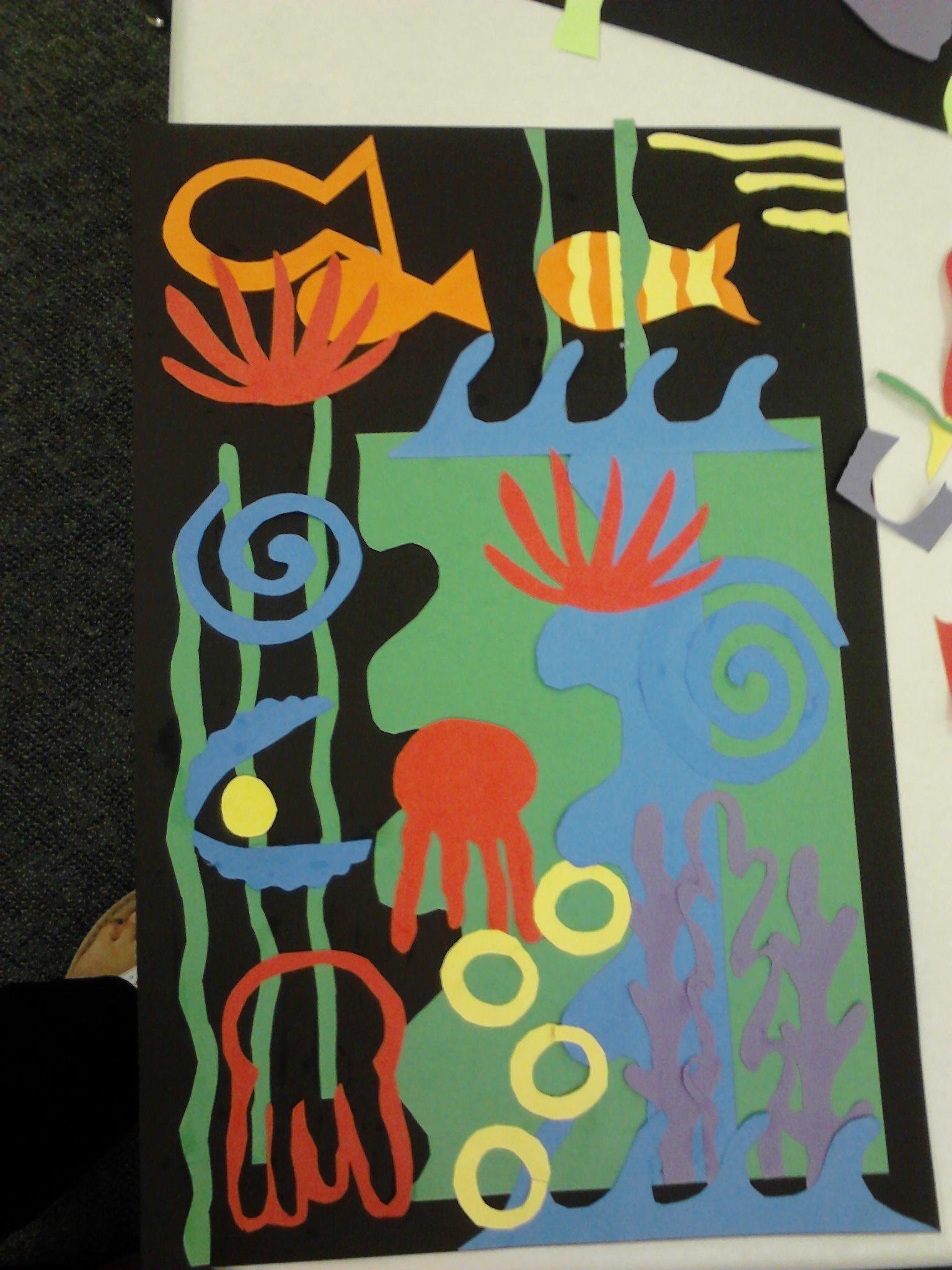 Meet The Masters Henri Matisse Color Art Activity