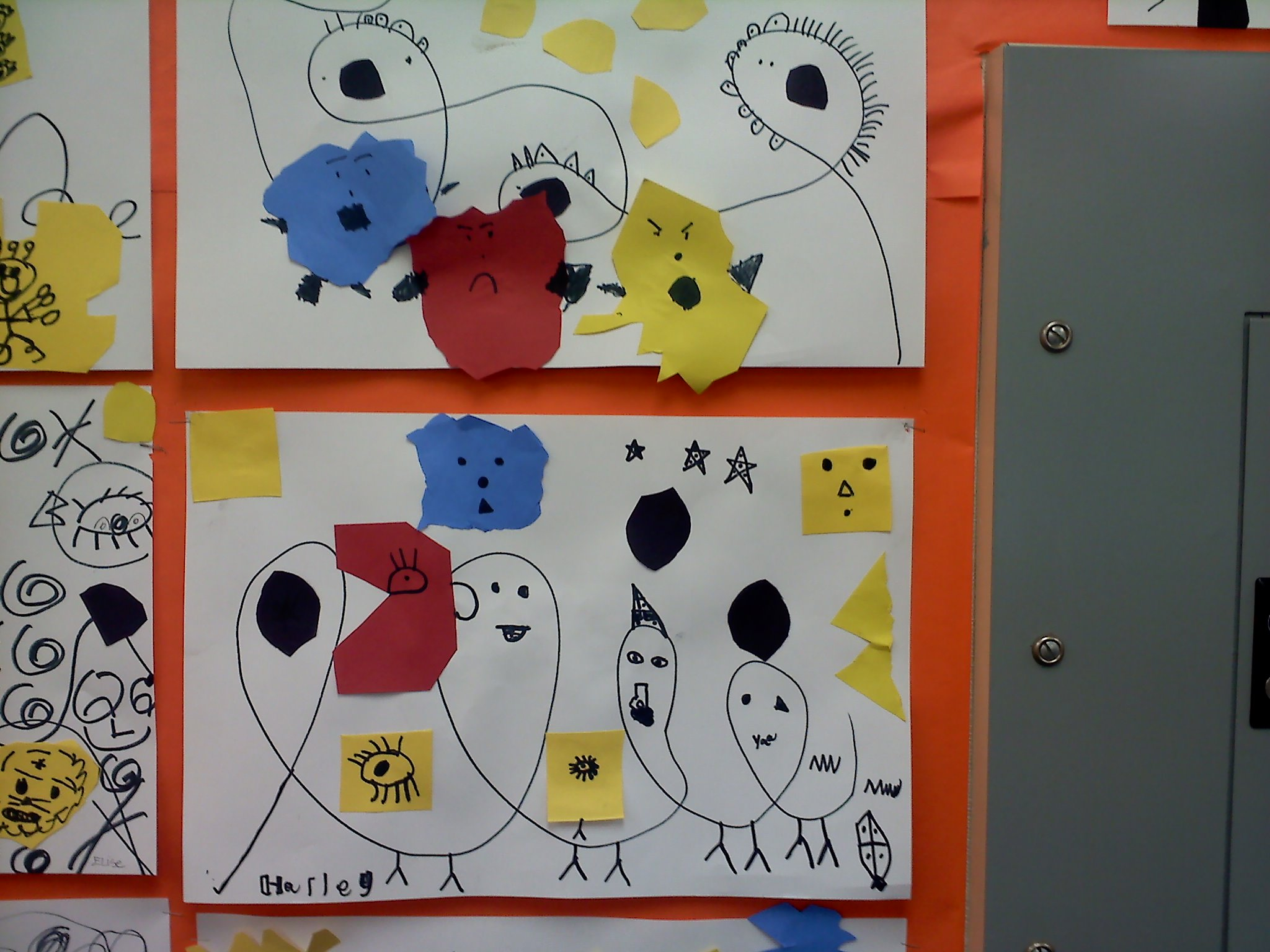 Meet The Masters Joan Miro Line Art Activity Emphasis Surrealist Compositions