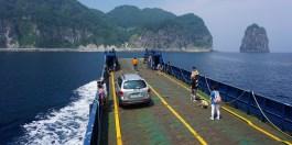 Ulleungdo boat tour 2
