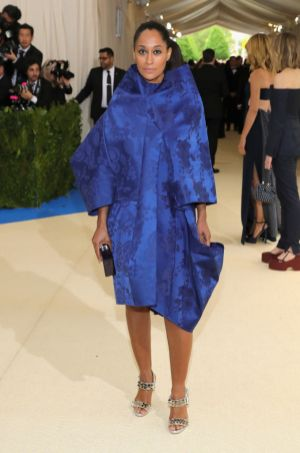 Tracee Ellis Ross in Comme des Garcons