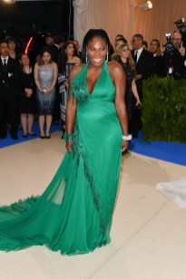 Serena Williams in Versace