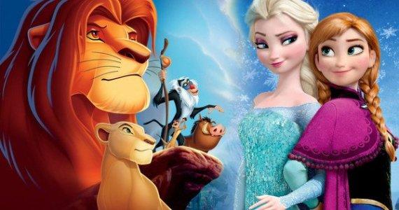 Frozen 2 x The Lion King