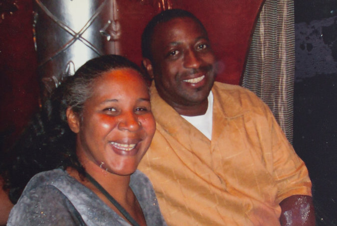 Eric garner and Wife