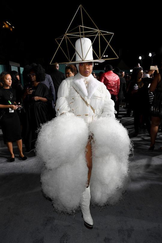 Erykah Badu at the Soul Train Awards via Pinterest
