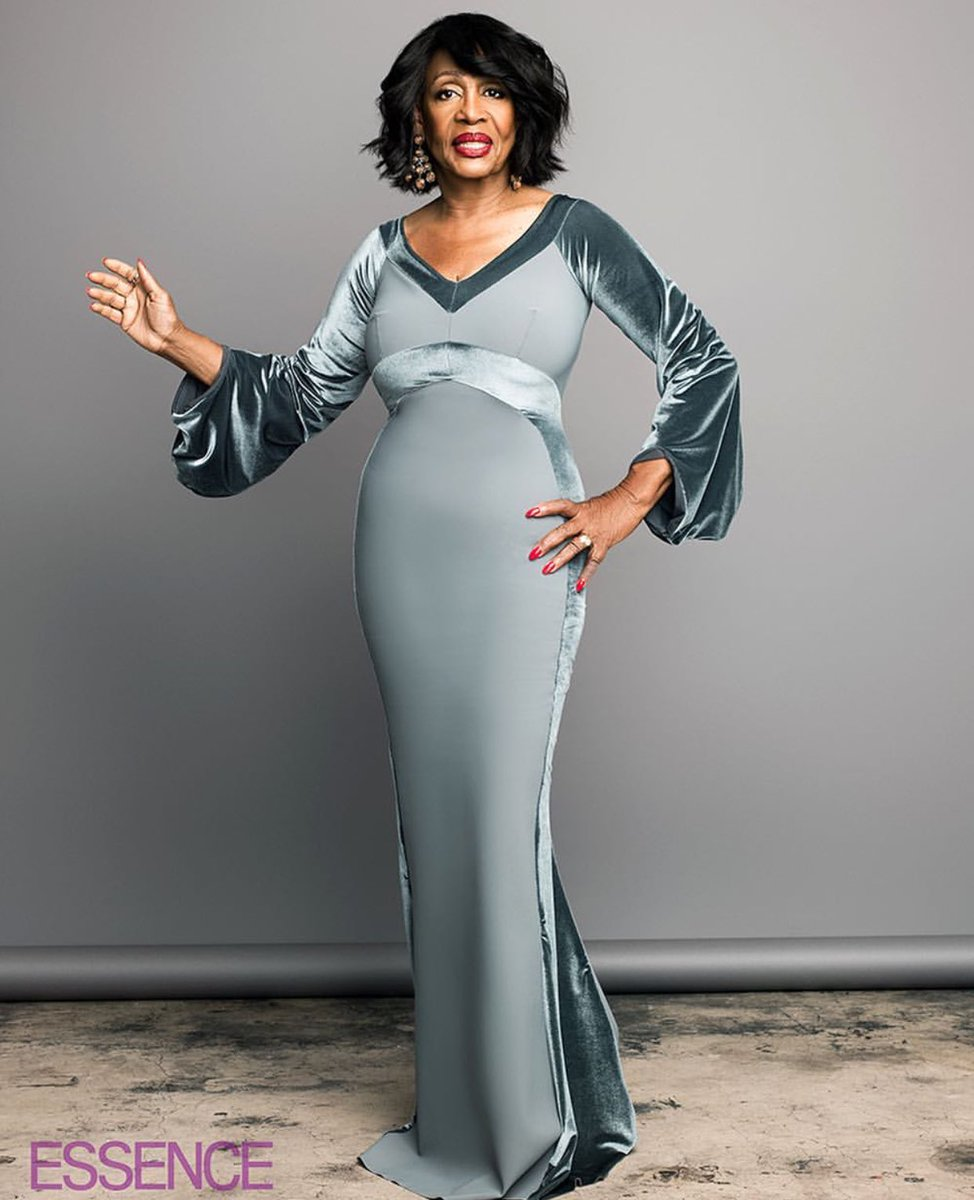 Maxine Waters for Essence. Picture via Twitter @essence
