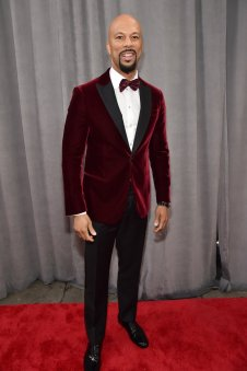 Common at the 60th GRAMMYS. Photo by Kevin Mazur/Getty Images