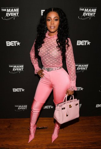 Keyshia Ka'Oir at A Toast To The Mane Event at Terminus 330 on September 28, 2017 in Atlanta, Georgia. (Photo by Paras Griffin/Getty Images for BET Networks)