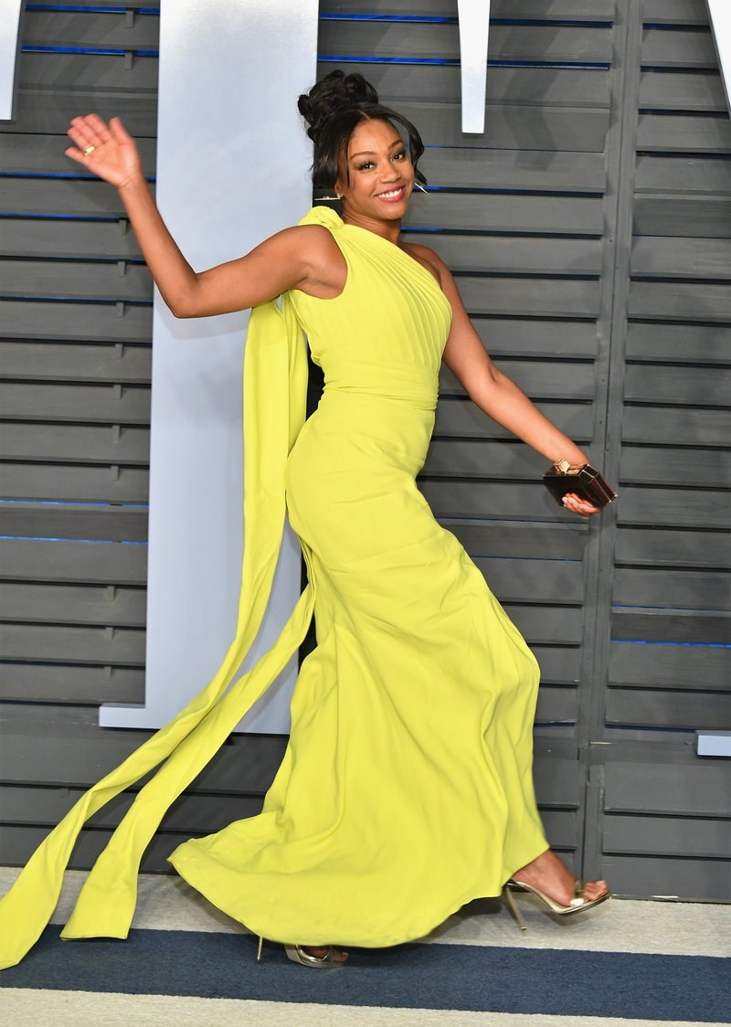 Tiffany Haddish at the 2018 Vanity Fair Oscar Party. Photo by Dia Dipasupil/Getty Images