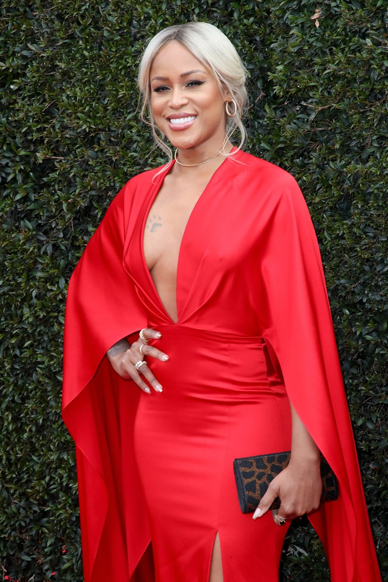 Eve attended the 45th Daytime Emmy Awards in Pasadena, California. Photo by David Livingston/Getty Images
