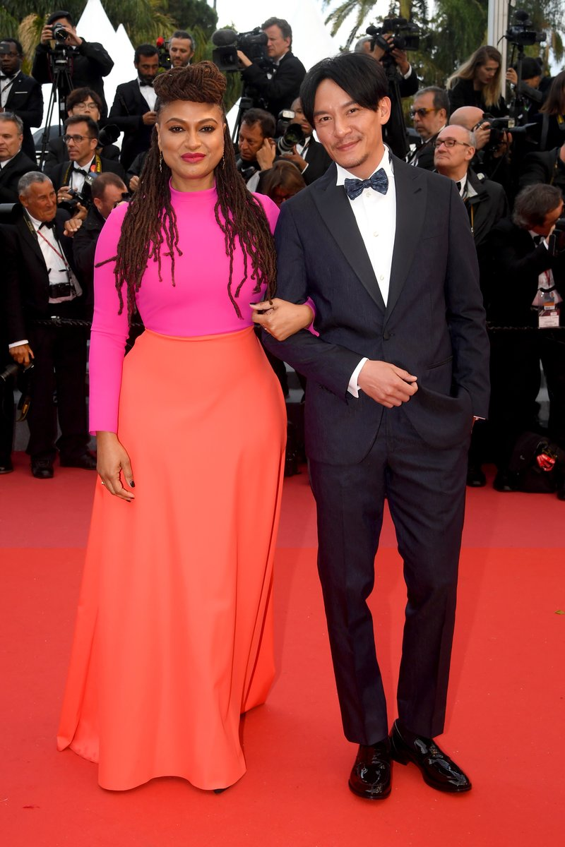 """Ava DuVernay and Chang Chen attend a screening of """"BlacKkKlansman"""" during the 71st annual Cannes Film Festival. Photo by Stephane Cardinale - Corbis via Getty Images"""