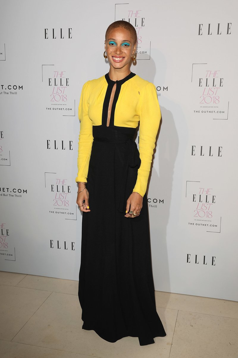 Adwoa Aboah attends The ELLE List 2018 in London. Photo by Tim P. Whitby/Getty Images