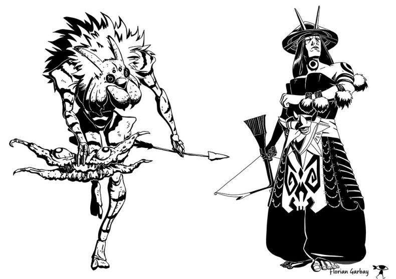 concept art argox archer