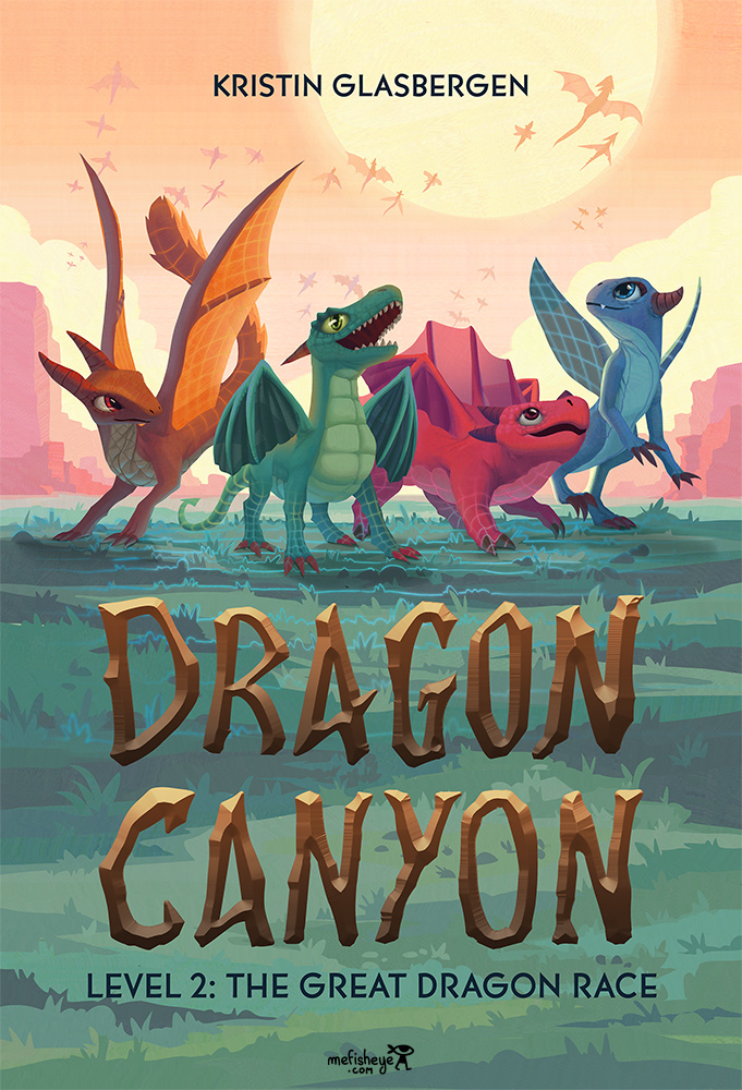 couverture livre book cover dragon canyon the great dragon race