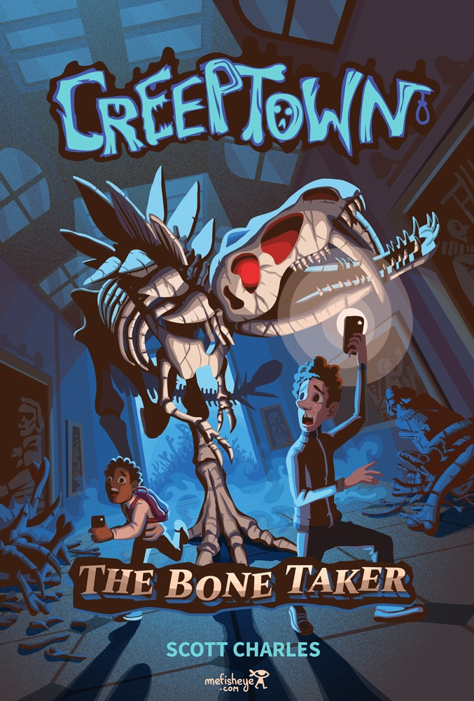 Couverture creeptown the bone taker par Scott Charles