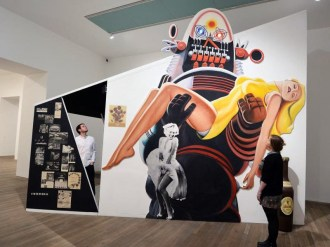 Richard Hamilton, Installation shot from the exhibition This Is Tomorrow, Tate Modern, 13 February – 26 May 2014. © Tate Modern