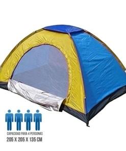 Tienda para Camping 4 Personas