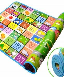 Alfombra para gateo de bebe con letras del abecedario mega bahía