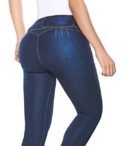 Pantalón levanta cola color azul oscuro Mega Bahía