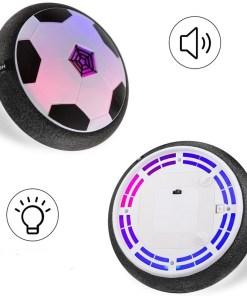 Disco de luz led pelota flotante de fútbol mega bahía