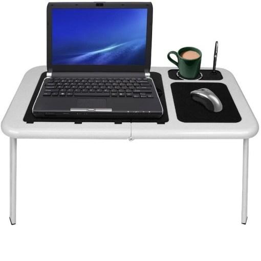 mesa plegable con ventiladores para laptop ld09 portátil mega bahia