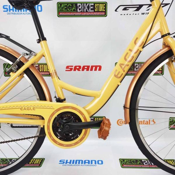 Bicicletas-talla-aro-700-mega-bike-store-bike-ruta-carrera-shimano-triatlón-eagle-city-bike-beige