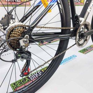 Bicicleta-guayaquil-mtb-montañera-talla-mega-bike-store-bike-shimano-aluminio-aro-29-kawasaki-bomber-negro-azul