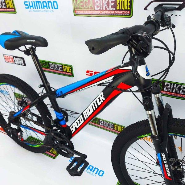 Bicicleta-guayaquil-mtb-montañera-talla-mega-bike-store-bike-shimano-speed-monter-aro-24-acero.