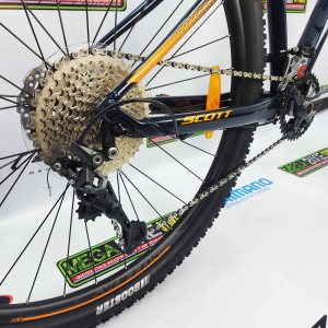 Bicicleta-guayaquil-mtb-montañera-talla-mega-bike-store-bike-shimano-scott-aspect-930-aluminio-azul-naranja.