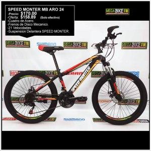 Bicicleta-guayaquil-mtb-montañera-talla-mega-bike-store-bike-shimano-speed-monter-aro-24-acero-negro-naranja.