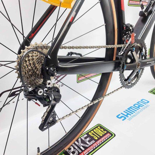Bicicleta-guayaquil-mtb-montañera-talla-mega-bike-store-bike-shimano-twitter-stealth-pro-aro-700-carbono-negro-rojo.