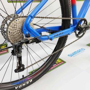 Bicicleta-guayaquil-mtb-montañera-talla-mega-bike-store-bike-shimano-gti-track-race-aro-29-aluminio-azul-rojo