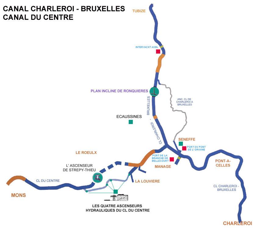 Canal Bruselas Charleroi Megaconstrucciones Extreme