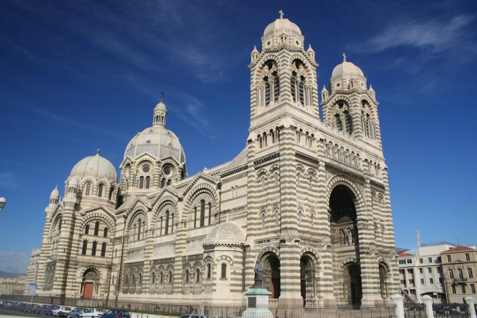 Catedral de Marsella, Basílica de Santa María la Mayor ...