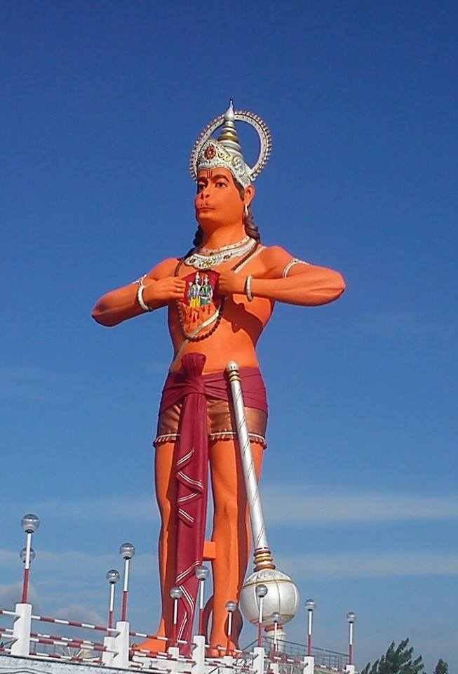 Estatua De Hanuman En Shahjahanpur Megaconstrucciones