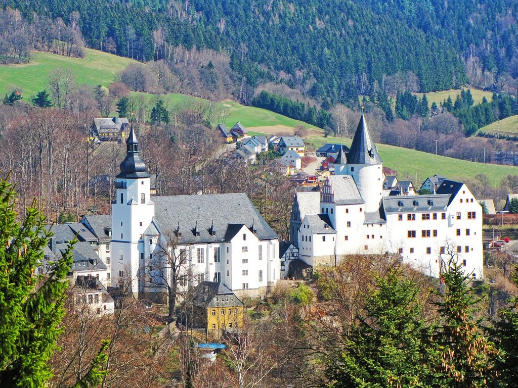 Castillo De Schwarzenberg Sajonia Schloss Schwarzenberg