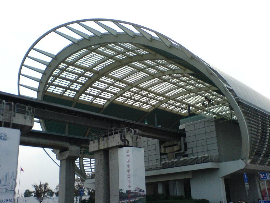 L 237 Nea Del Shanghai Maglev Megaconstrucciones Extreme