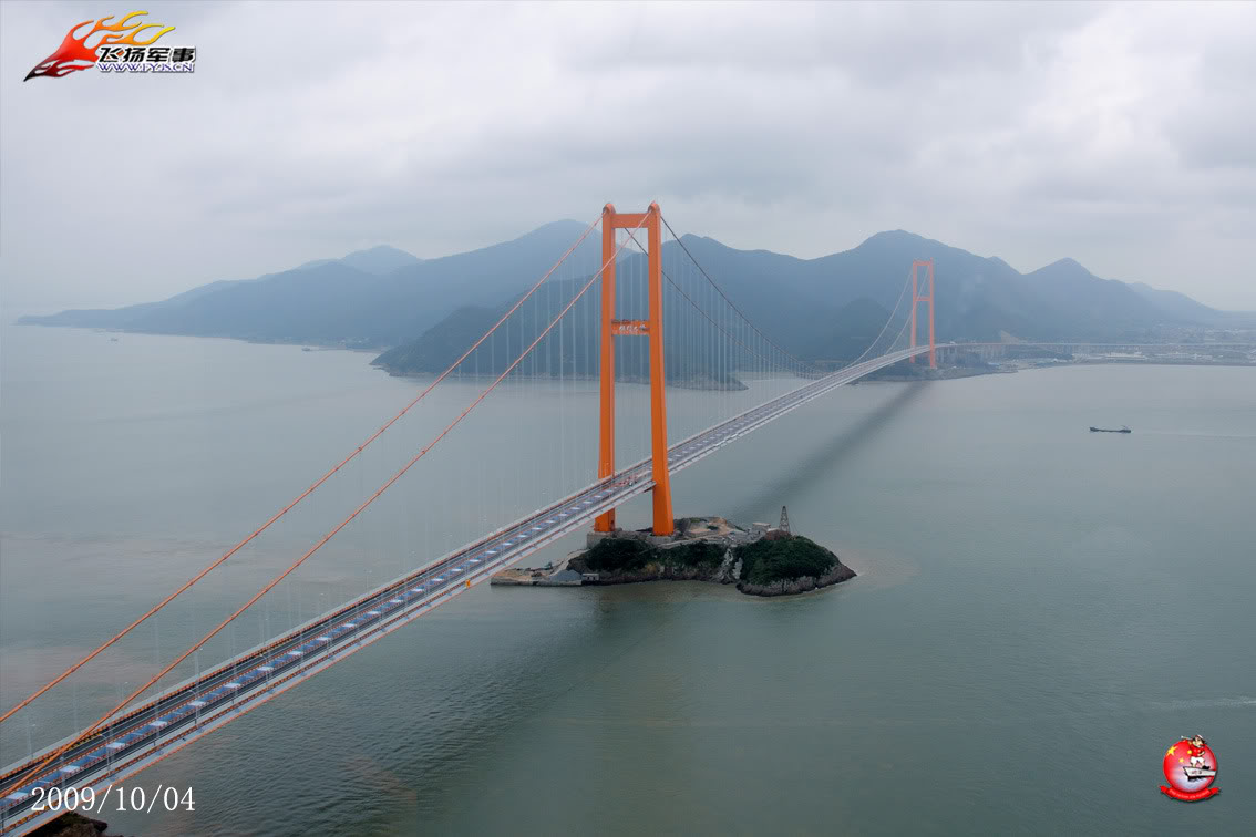 Puente Xihoumen Puentes De Las Islas Zhoushan