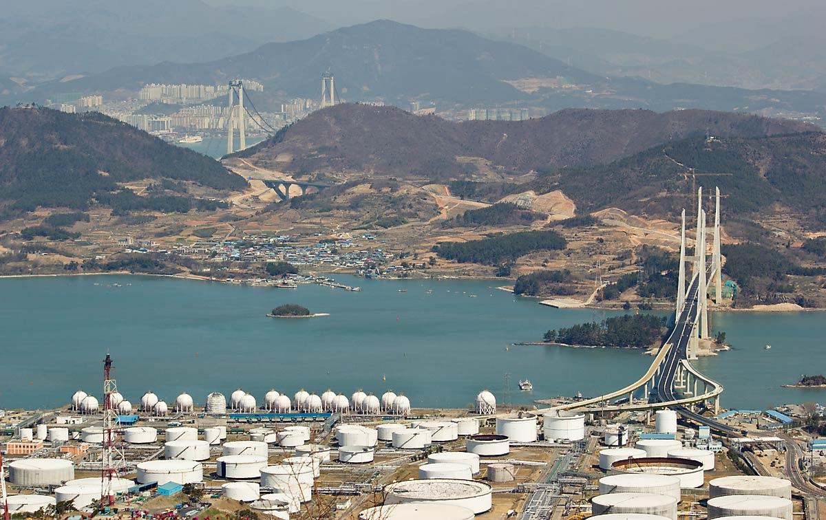 Puerto De Gwangyang Kwangyang Port Megaconstrucciones