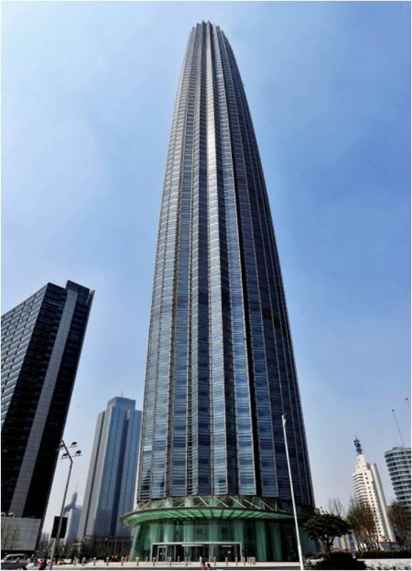 Tianjin World Financial Center Megaconstrucciones