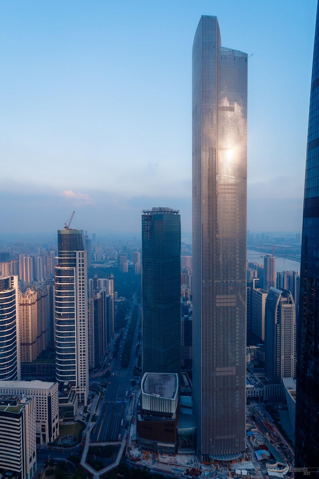 Guangzhou Ctf Finance Centre Megaconstrucciones Extreme