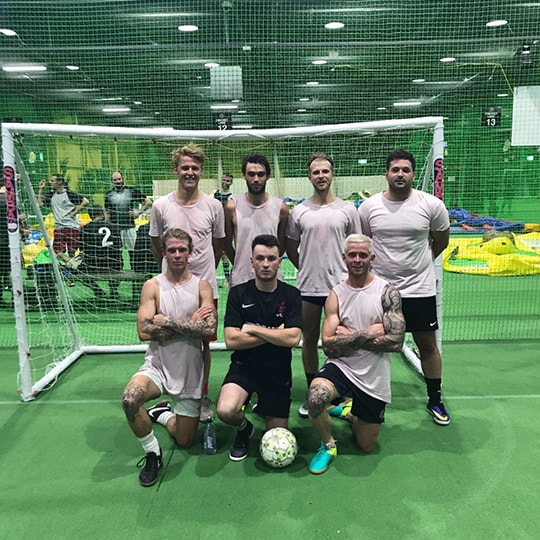 Senior Futsal League Spring 2017 Division 1 Winners