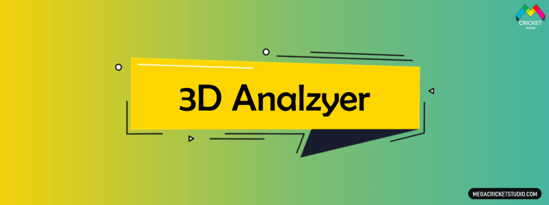 3D Analyzer for EA Sports Cricket 07