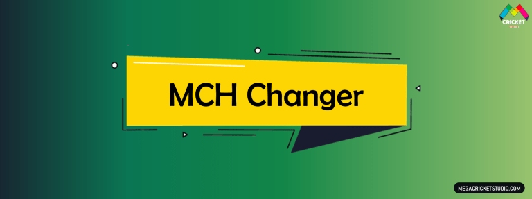 MCH Changer for EA Sports Cricket 07