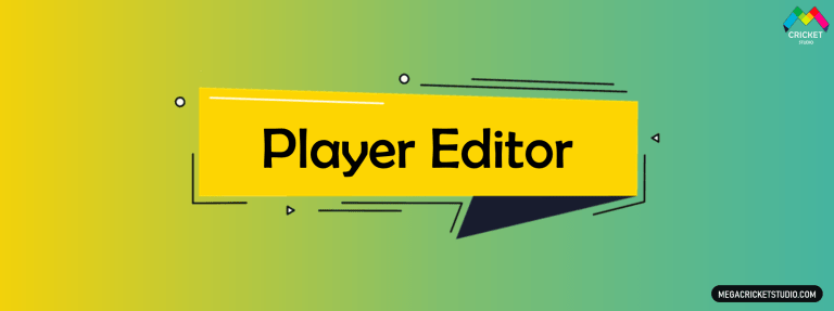 Player Editor for EA Sports Cricket 07